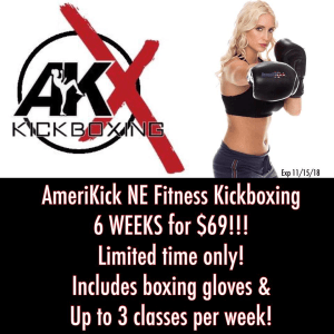 in Philadelphia - Amerikick Martial Arts Northeast Philly - 6 weeks for $69! Kickboxing!