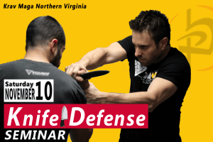 Krav Maga Knife Defense Seminar!