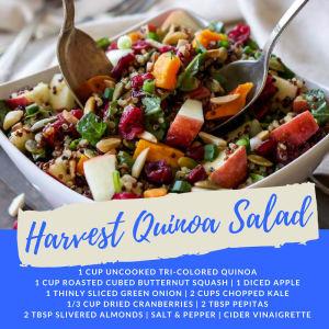 Recipe of the Week: Harvest Quinoa Salad