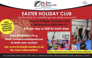 Book your place on our Easter Holiday Club