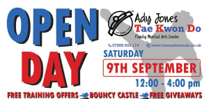 Come Along to Our September Open Day……