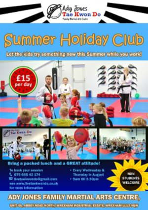 Tae Kwon-Do Summer Holiday Club