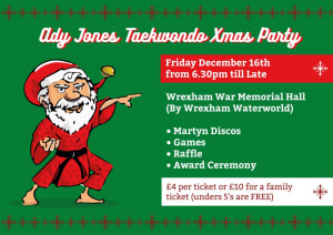 XMAS PARTY FRIDAY 16TH DECEMBER