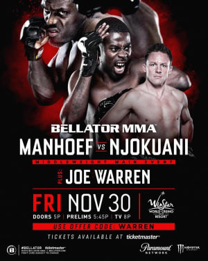 JOE WARREN FIGHT NEWS!