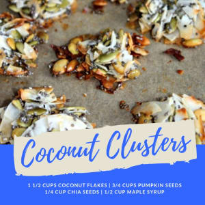 Recipe of the Week: Coconut Clusters