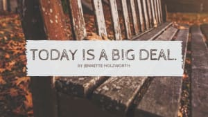Today is a big deal | Personal Training in Campbell