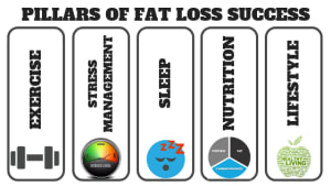 5 Pillars of Success for Fat Loss