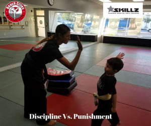 in Manhattan Beach - Beach Cities Martial Arts - Discipline vs Punishment Master Melody Podcast