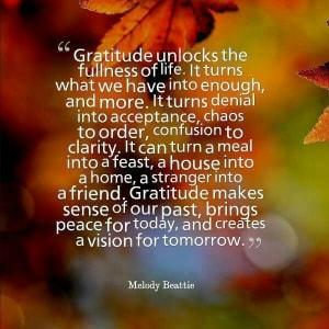 Gratitude unlocks the...