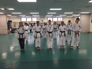 Tae Kwon Do Black Belt Test