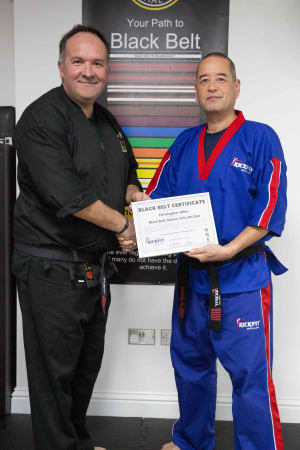 Shihan Chris earns 5th Dan Black Belt