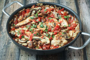 Tuscan Chicken Skillet