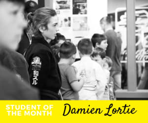 Student of the Month - Damien Lortie
