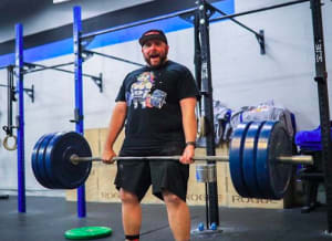 "CrossFit in Fort Collins - Yeti Cave CrossFit - ""Fink"" - December's Member of the Month"