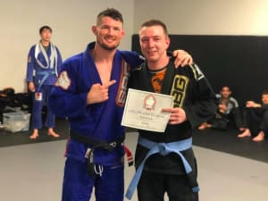 in Buford - Straight Blast Gym Buford - Raphael Wussler is December's Martial Artist of the Month
