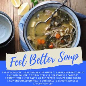 Recipe of the Week: Feel Better Soup