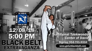 Join Us for our Black Belt Extravaganza