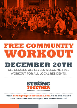 CrossFit in Chelsea - Strong Together Chelsea - FREE Community Workout!