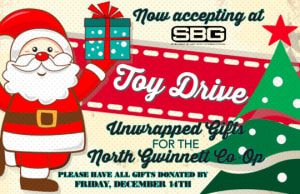 Toy Drive at Straight Blast Gym Buford
