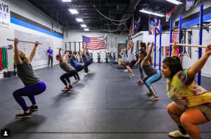 Weekly CrossFit Workouts January 7-11th