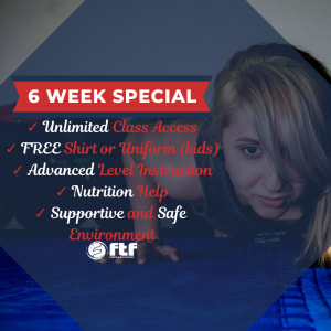 Kids Martial Arts near  Gastonia - FTF® Fitness And Self-Defense - Holiday Special - 6 Week Membership