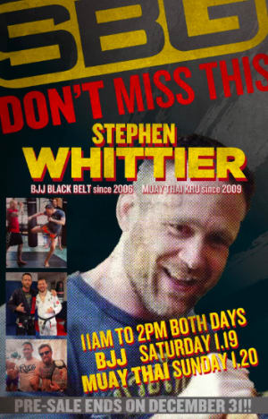 in Buford - Straight Blast Gym Buford - Stephen Whittier Is Coming To SBG Buford