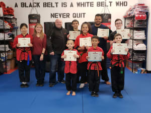 Congratulations to our Newest Black Belts