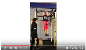 Personal Training in Brampton - Impact Fitness - Chin-ups for Judith!!