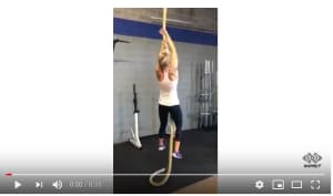 Personal Training in Brampton - Impact Fitness - Legless Rope Climb!