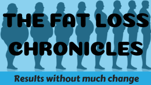 Fat Loss Chronicles: Result without much change