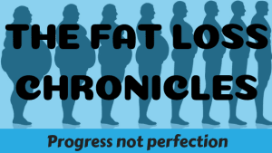 Fat Loss Chronicles: Progress not perfection