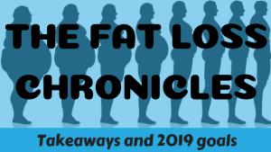 Fat Loss Chronicles: Takeaways & 2019 goals