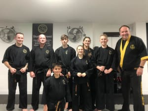 Congratulations to our successful Black Belt Candidates - November 2018