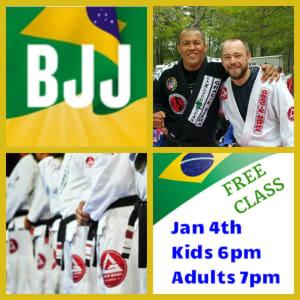 BJJ Brazilian Jiu Jitsu FREE class