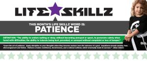 in Mandeville - Northshore Taekwondo  - Life Skill: Patience