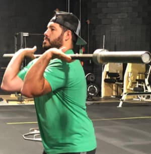 The Clean – The Importance of Learning The Front Squat First!