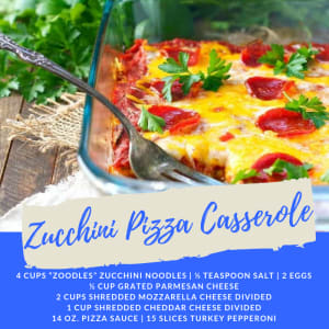 Personal Training  in Campbell - 5:17 Total Body Transformations - Recipe of the Week: Zucchini Pizza Casserole