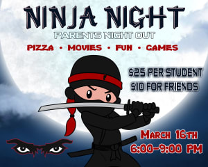 in Oceanside - Champion Eyes - Ninja Night