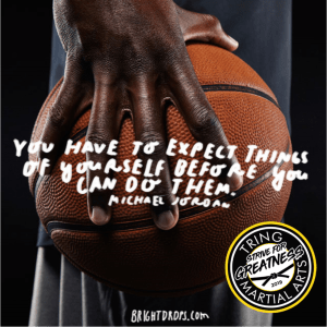 Strive For Greatness - You have to expect...