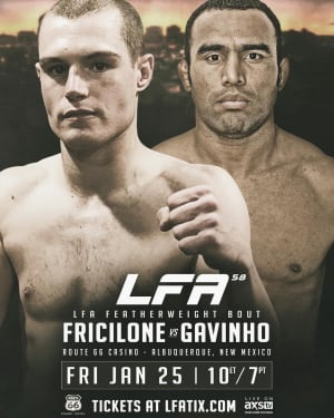 FIGHT WEEK FOR VINCE FRICILONE!!!