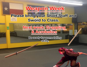 Weapon Week!