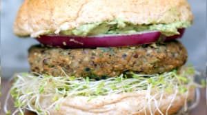 Recipe of the Week: Sweet Potato Black Bean Burgers