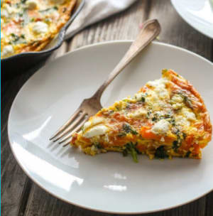 KICKSTART™ Recipe: Bacon & Kale Frittata