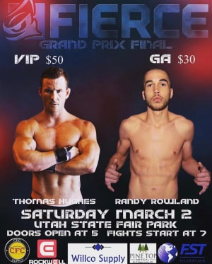 RANDY ROWLAND FIGHT ANNOUNCEMENT!
