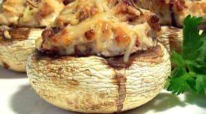 Recipe: Cheesy Stuffed Mushrooms