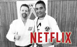 in Lafayette - Champagne's Martial Arts - Netflix is working on a BJJ origins movie about Rickson Gracie