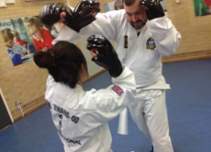It's Easy To Get Tough in Our Adult Self Defence Classes!