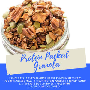 Recipe of the Week: Protein Packed Granola