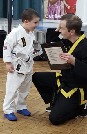 4-6 Years Children's Class Martial Arts First Step To Black Belt!