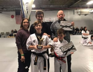 A Family of Black Belts